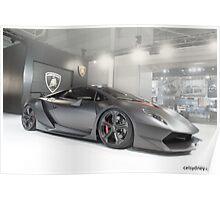 Lamborghini Sesto Elemento Poster