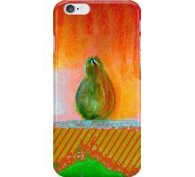 """Enhanced Pear"" by Chip Fatula iPhone Case/Skin"
