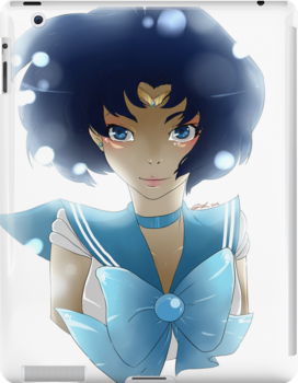 Sailor Mercury - Ami Mizuno (Fan art) by EmilyStrider