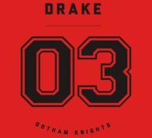 Gotham Knights Jersey - Tim Drake by strawtography