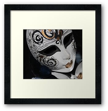 swirly mask by Perggals© - Stacey Turner