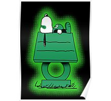 Snoopy Lantern Poster