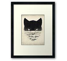 Wolfy Framed Print