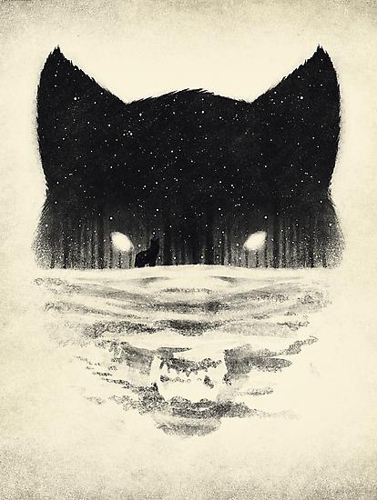 Wolfy by Dan  Burgess