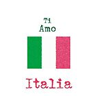 I Love Italy Vintage Style by wlartdesigns