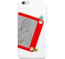 Itch A Sketch iPhone Case/Skin