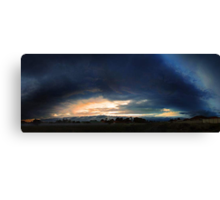 Severe Thunderstorm - December 13 2012  Canvas Print
