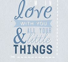 Little Things One Direction by gleviosa