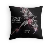 The Hobbit - Lonely Mountain Throw Pillow