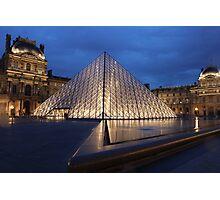 Pyramid du Louvre Photographic Print