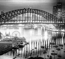 Black and White Symphony - Sydney Harbour, Australia - The HDR Experience by Philip Johnson