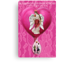 † ❤ † ❤ † MY HEART CRYS OUT~ MY HEARTFELT DEDICATION AND PRAYER REF Connecticut Elementary School Shooting † ❤ † ❤ † Canvas Print