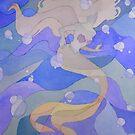 Retro Mermaid by Beth Aucoin