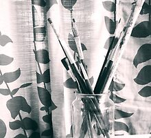 Paint Brush Collection by MoonCat