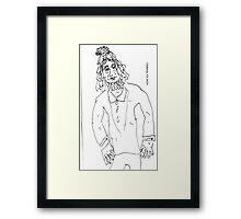 Rootsman Framed Print