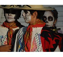 Day Of Death - Dia De Los Muertos Photographic Print