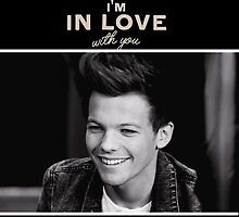 One Direction Little Things Louis by gleviosa
