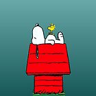 Sleeping Snoopy by gleviosa