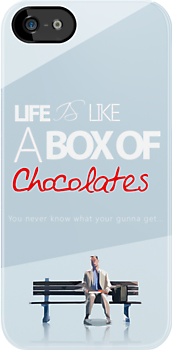 Forest gump - Life is like a box of chocolates. by xeraa