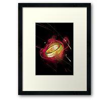 the ring of power Framed Print