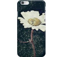 Artistic Daisy Flower iPhone Case/Skin
