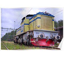 Locomotives of Värnamo II Poster