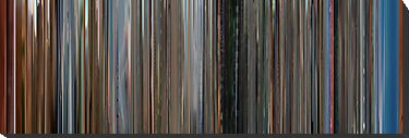 Moviebarcode: Koyaanisqatsi (1982) by moviebarcode