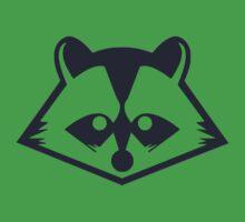Navy Raccoon Head Kids Clothes