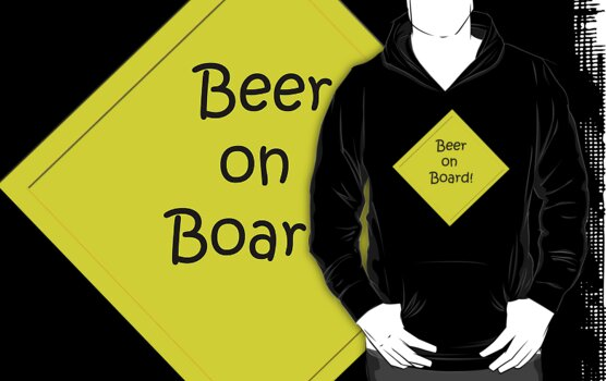 beer on board by Jon Lees