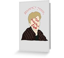 Sincerely The Breakfast Club [ Ipod / Iphone / Ipad / Print ] Greeting Card