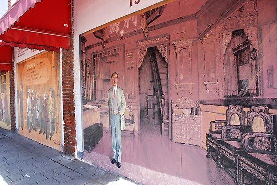 Chinatown Mural by John Schneider
