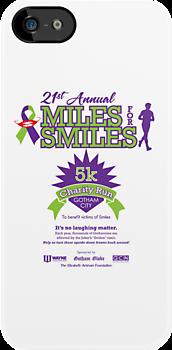 """Miles for Smiles"" Gotham City 5k Charity Run by Ryan Sawyer"