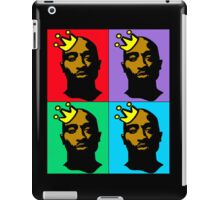 HIP-HOP ICONS: TUPAC SHAKUR (4-COLOR) iPad Case/Skin