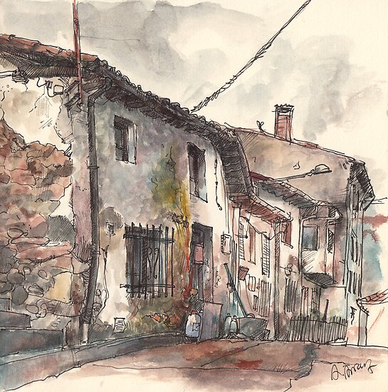 Old house in Guardo by Adolfo Arranz