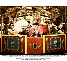 Silla Black, Jack London, KarneyDoll, LeopardLass, Jolie Mystique & Marley Cross @ Semaphore Carousel by Bradley Munro