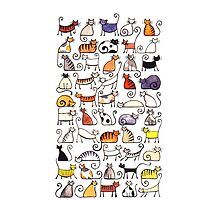 Cats, cats, cats! by Julia Marshall