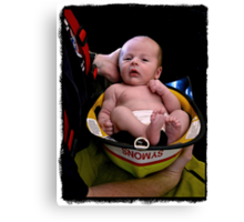 ~The Littlest Fireman~ Canvas Print