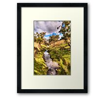 Water Source - Somewhere near Oberon NSW Australia - The HDR Experience Framed Print