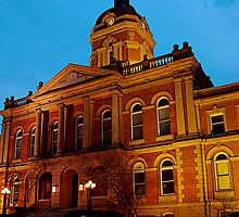 Goshen, Indiana courthouse  by jammingene