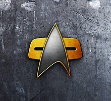 Starfleet iPhone Case II by Mattwo