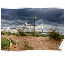 Michigan City Lighthouse Poster