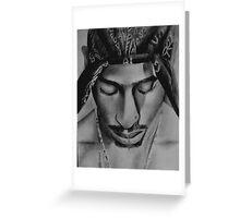 Tupac Greeting Card
