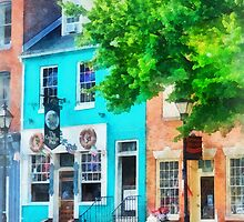 Maryland - Neighborhood Pub Fells Point MD by Susan Savad
