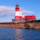 Longstone Lighthouse by rubyrainbow