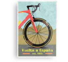 Vuelta a España Bike Metal Print