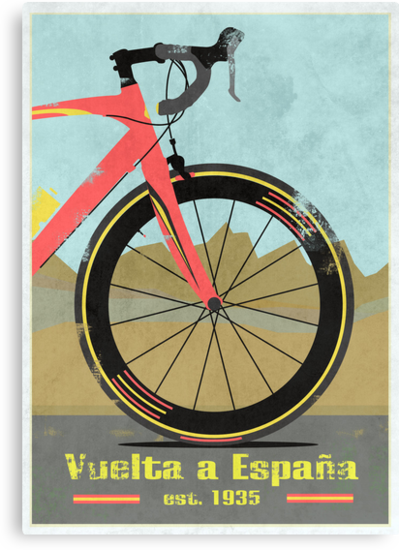 Vuelta a España Bike by Andy Scullion