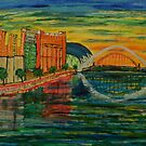 Gateshead Quayside by George Hunter
