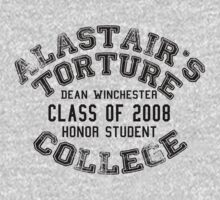 Alastair's Torture College - Dean WInchester honor student (Black) by Unicorn-Seller