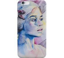 Daenerys Targaryen - game of thrones  iPhone Case/Skin