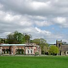 Okeover Hall and Manor Church  by Rod Johnson